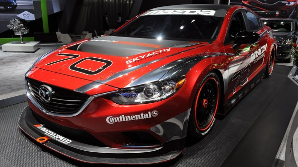 Mazda 6 24 Hours of Daytona Race Car