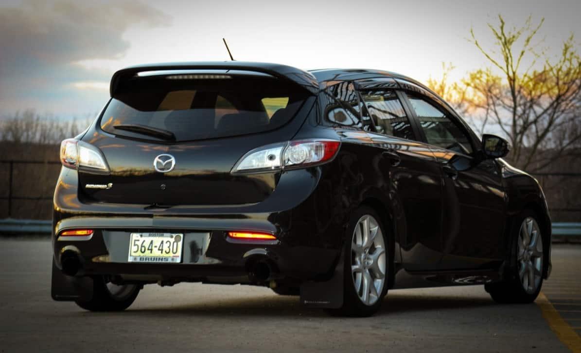 Joe-Perry-2011-Mazdaspeed-3-CorkSport-Featured-Mazda-Speed-3-Car-Rear-Stock