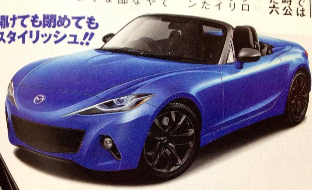 Mazda Miata CorkSport Render