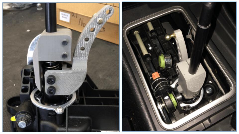 Mazdaspeed3 adjustable short shifter prototype