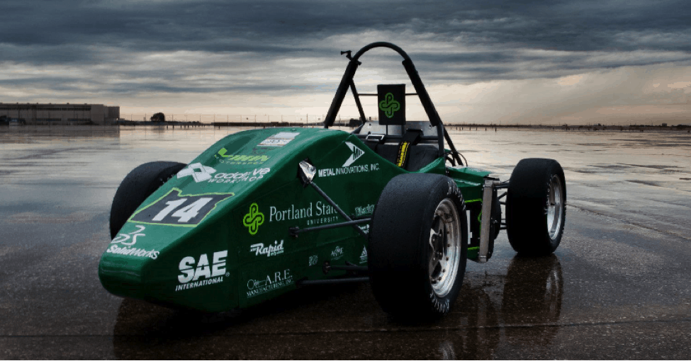 FSAE Sample Race Car Design