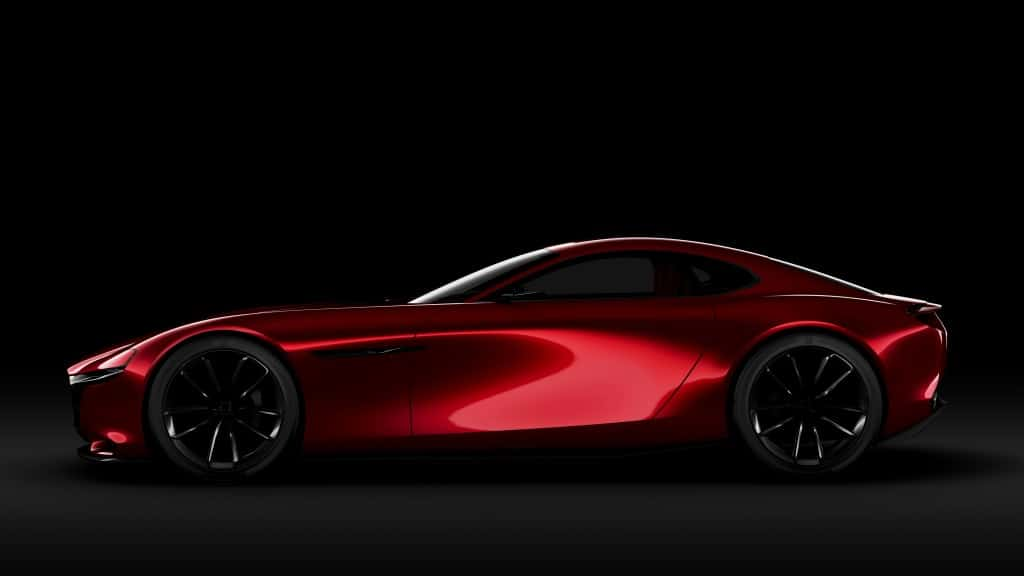 Mazda announced their latest concept car, the new RX-VISION. The new car will feature a rotary engine.