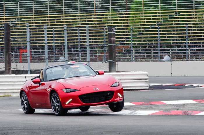 Give your 2016 MX-5 an aggressive look and enhanced driving experience.