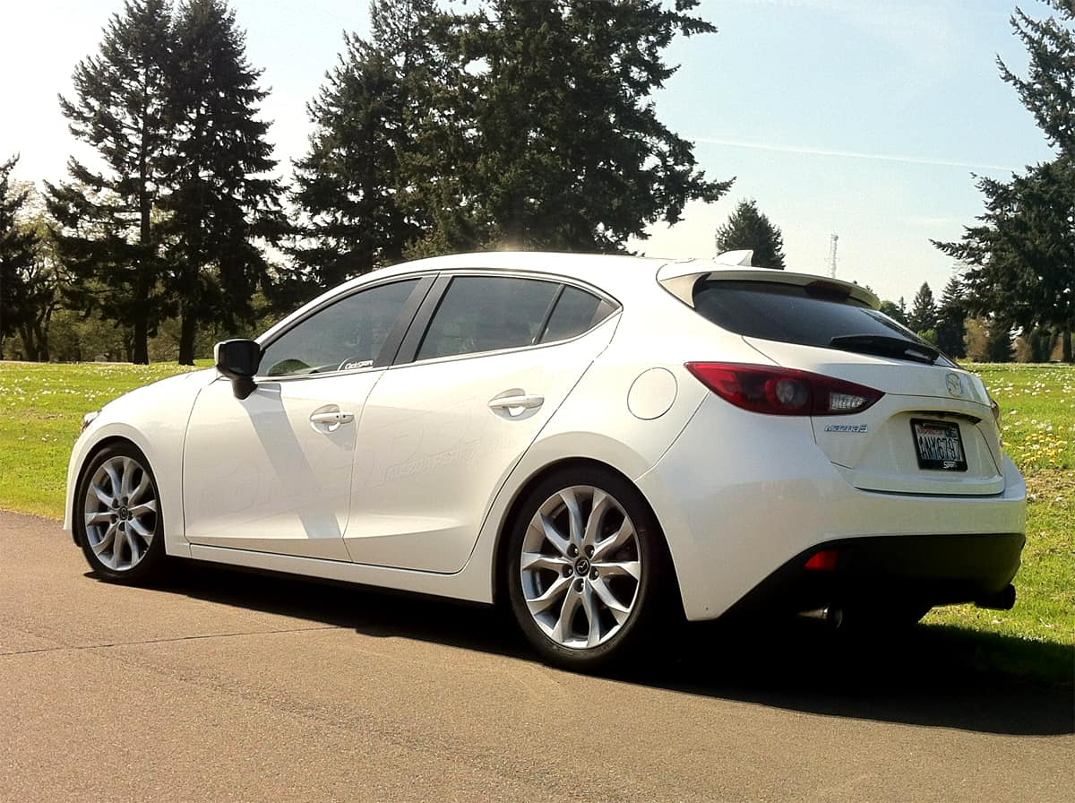 Drop your Mazda for an aggressive look and better handling with the CorkSport lowering springs.