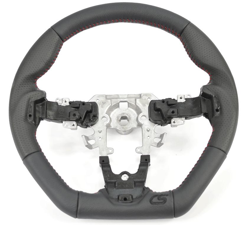 Upgrade your gen 2 Mazdasspeed 3 and Mazda 3 interior with the CorkSport Performance Steering Wheel.