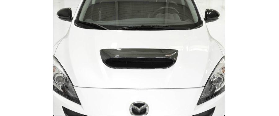 CorkSport Mazdaspeed 3 Hood Scoop