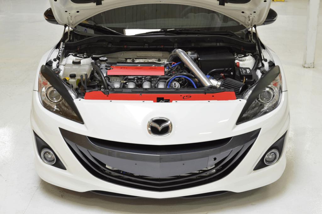 Mazdaspeed 3 engine cover radiator panel