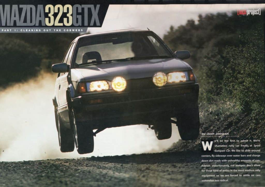 Mazda 323 GTX | CorkSport