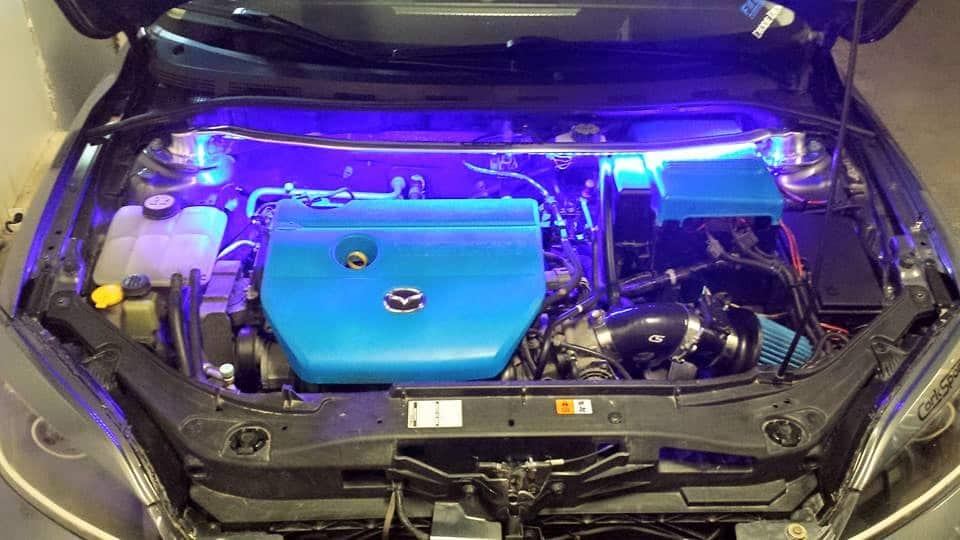 Mazda 3 Engine Bay