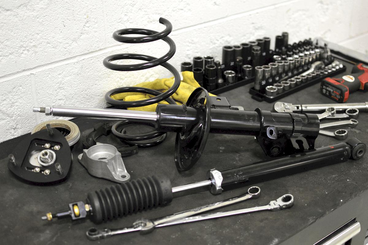 CorkSport Third Generation Shocks and Struts Installation