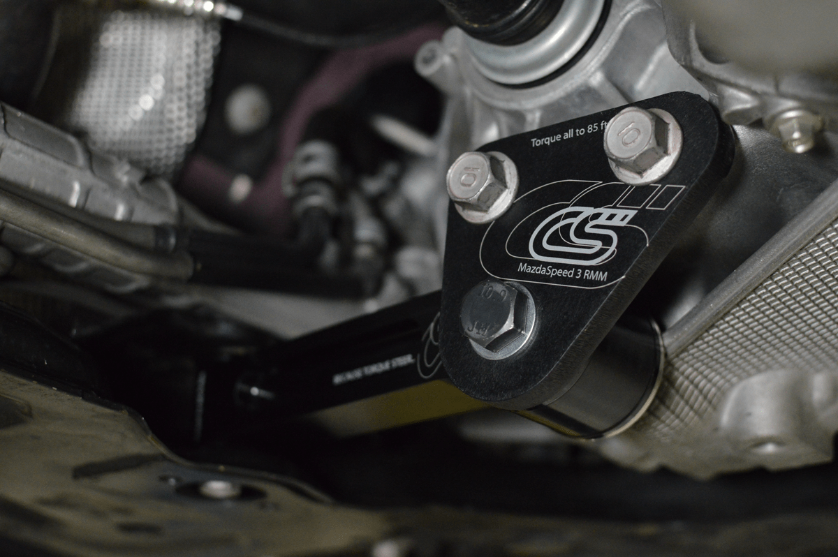 Mazdaspeed 3 rear engine mount installation