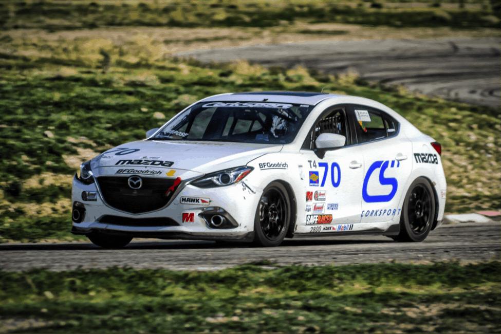 Corksport Mazda 3 racer