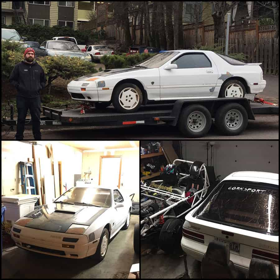 Sometimes your old car is just waiting to become your new car again. See how Ryan's old RX-7 reentered his life.