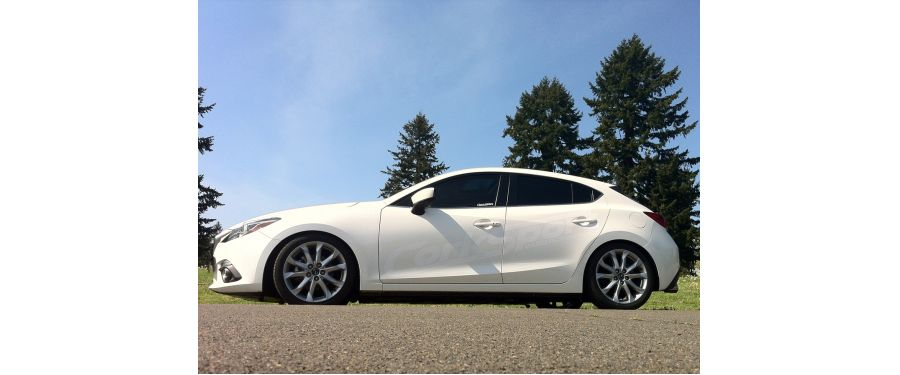 Our Mazda3 Lowering Springs deliver an aggressive appearance and a performance edge without sacrificing ride quality.