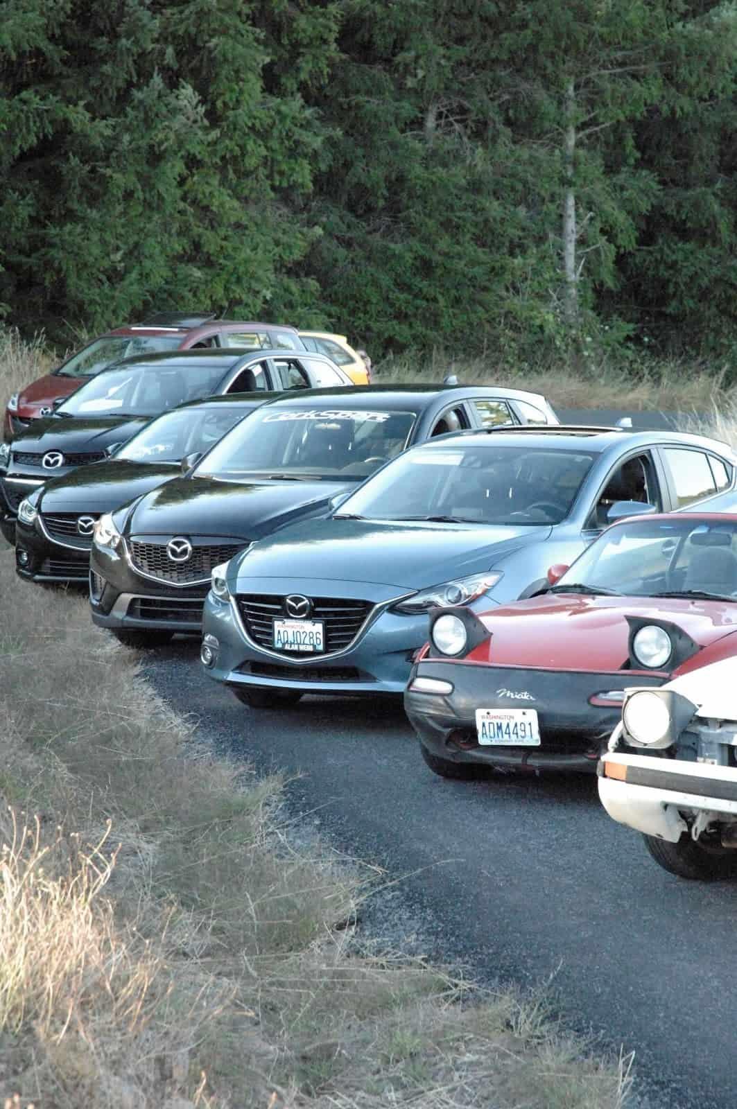 CorkSport's Mazda family.