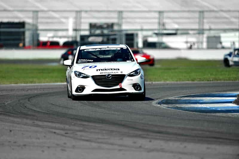 How to take control of your Mazda 3 at the track
