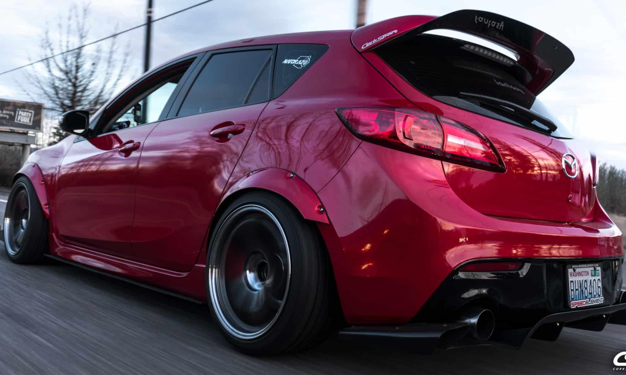 Brett's Mazdaspeed 3 Build