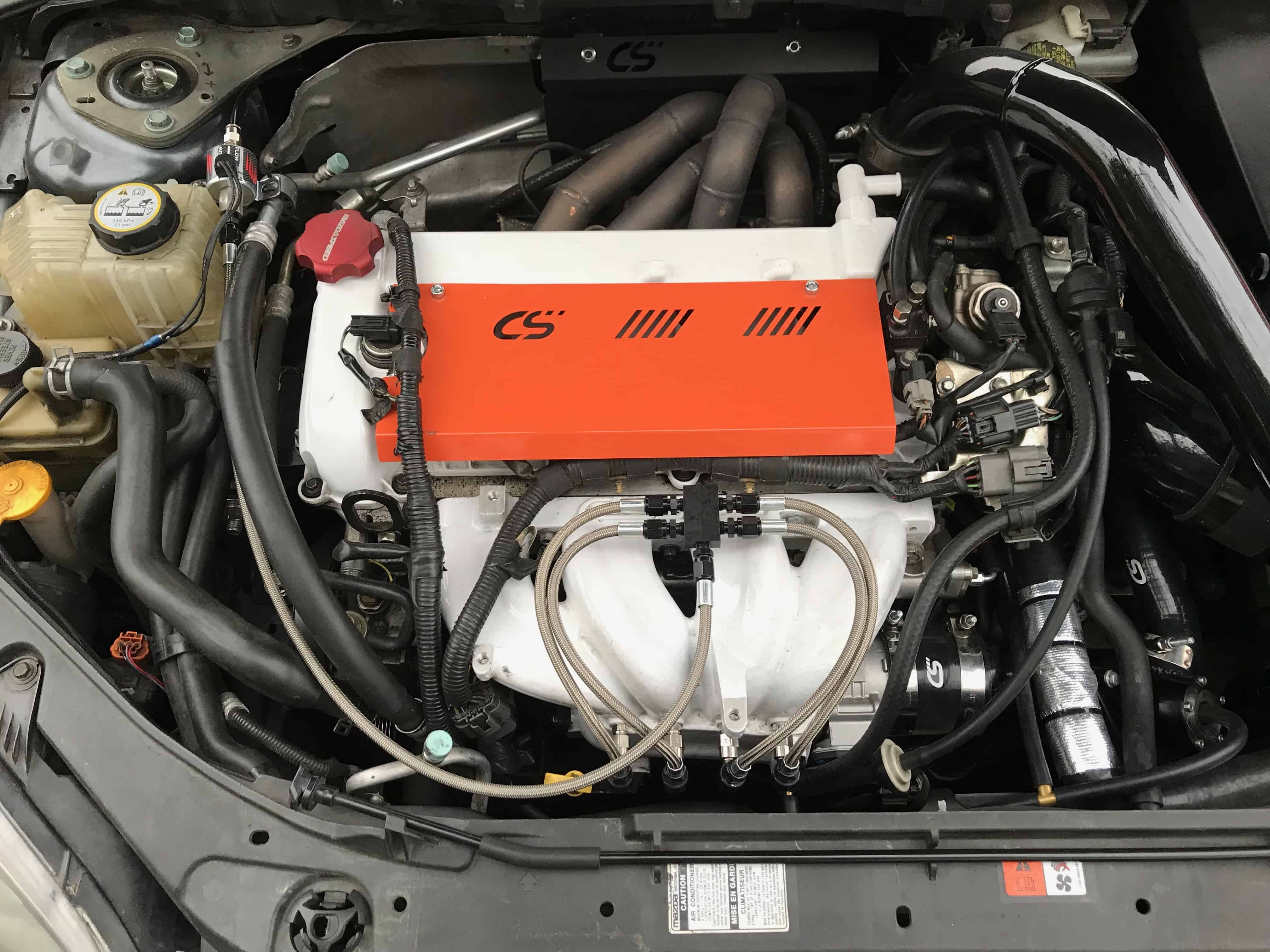 Auxiliary Methanol Fueling for Your Mazdaspeed
