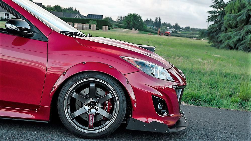 Brett's Mazdaspeed3 Build part 3
