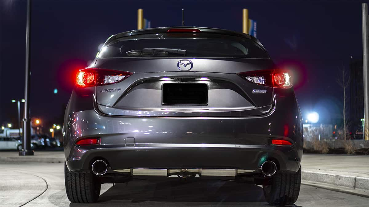 CorkSport 80mm Catback Exhaust for Gen3 Mazda3