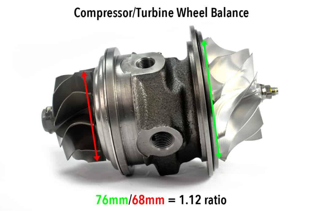 CST6 Compressor Wheel