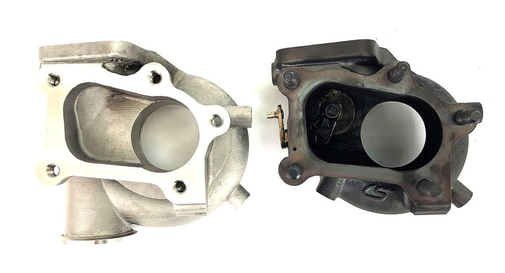 CorkSport MazdaSpeed3 external wastegate