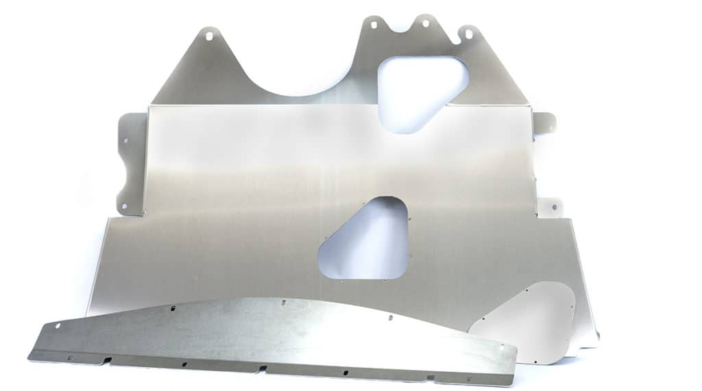 CorkSport Aluminum Skid Plate