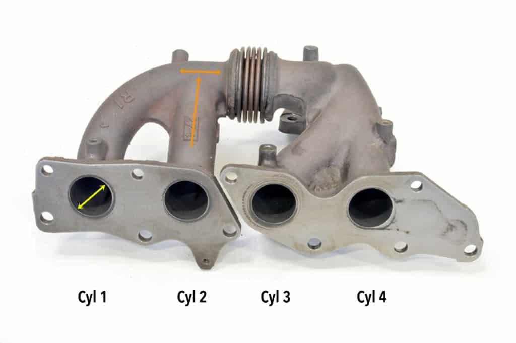 Mazdaspeed Exhaust Manifold Flange