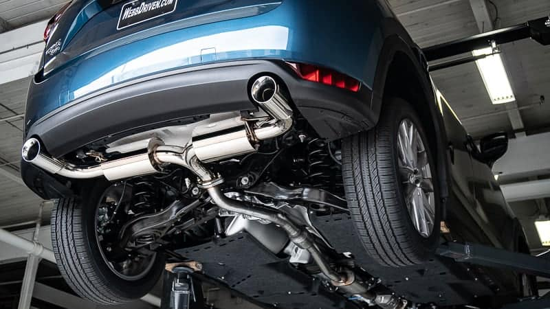 Cx5 Turbo Performance Dual Exhaust