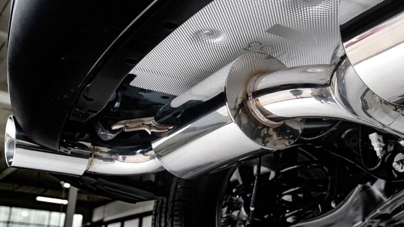 Tig Welded Mazda Cx5 2.5T Exhaust