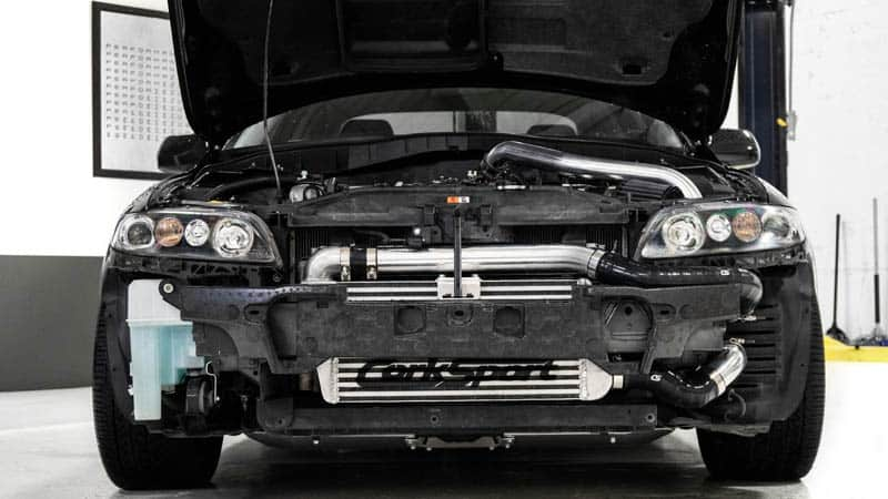 The bolt in Mazdaspeed 6 FMIC kit which makes it the best intercooler kit available.