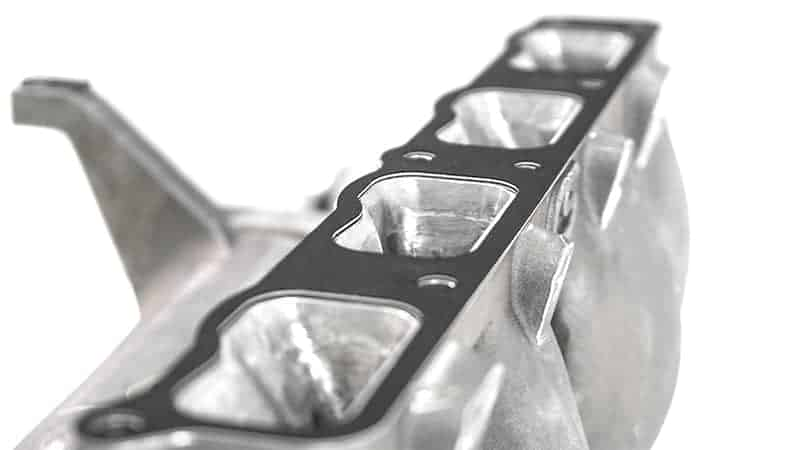 The Single runner MZR intake gasket goves the best flow without the divider obstruction in the intake runner