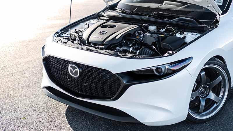The CorkSport Gen 4 Mazda 3 SRI installs in 30 minutes