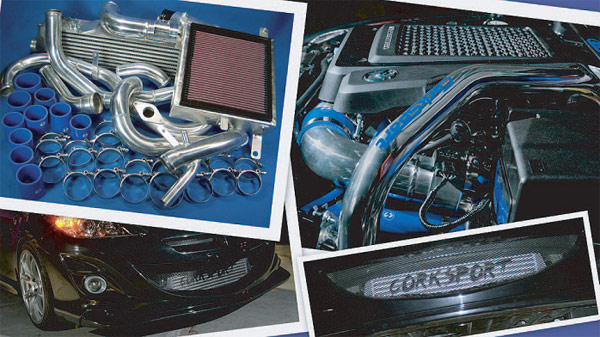 CorkSport Front Mount Intercooler Kit