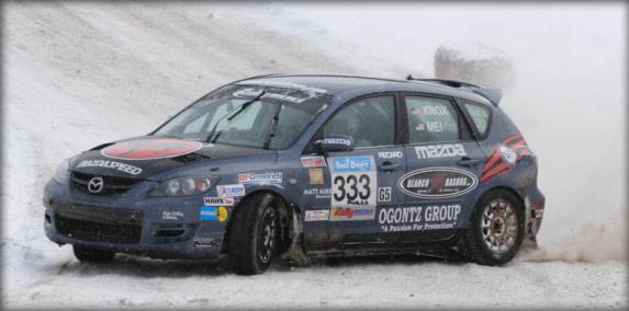 MazdaSpeed 3 Rally Drift
